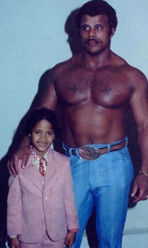 dwayne johnson childhood