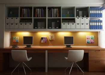 installing benching structures in Offices